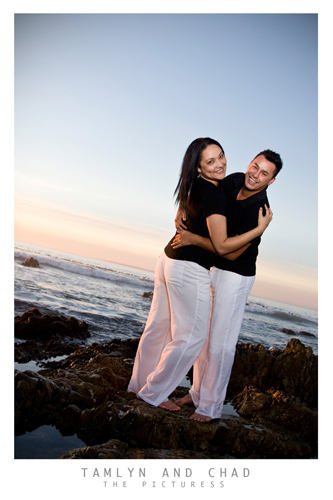 Mouille Point Engagement Shoot