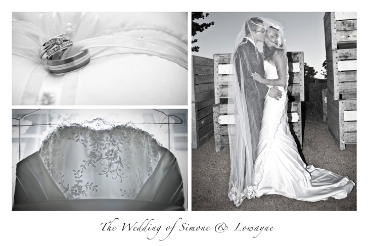 Wedding Postcard for Simone & Lowayne