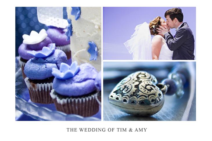 Wedding Postcard for Tim and Amy
