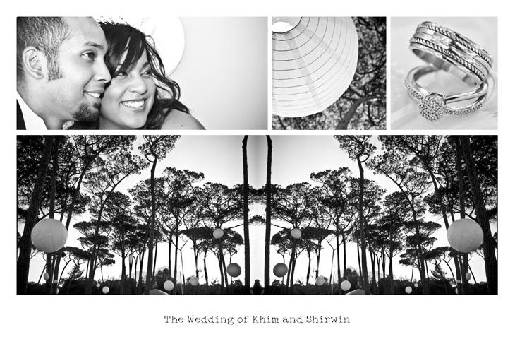 Wedding Postcard for Khim & Shirwin