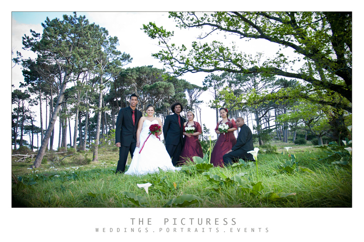 Cape Town Wedding Photo's