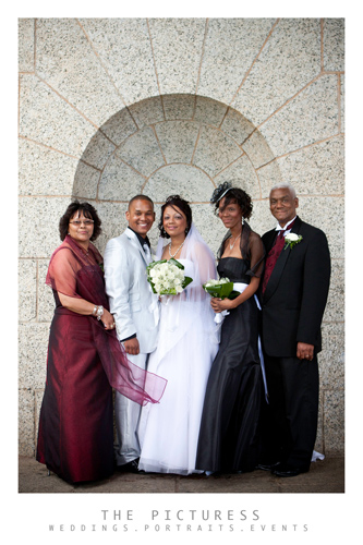 Cape Town Wedding Photos at Rhodes Memorial