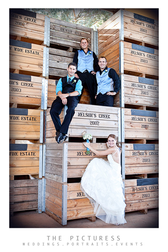 Nelson Creek Wedding Photos