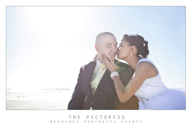 Cape Town Beach Wedding Photos