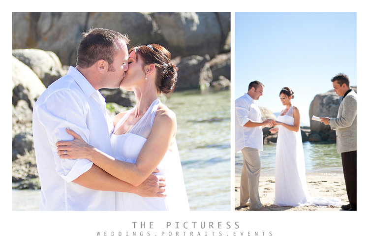 Beach Wedding Photos in Simonstown