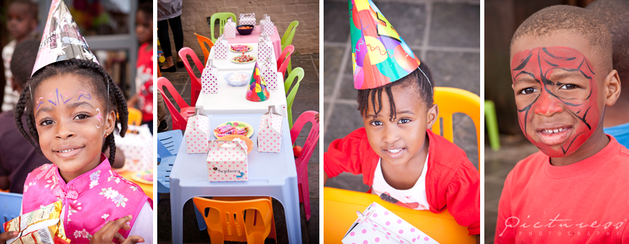 Cape Town Kids Party Photography