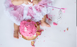 Isla Cupido – 1st Birthday Cake Smash in Cape Town