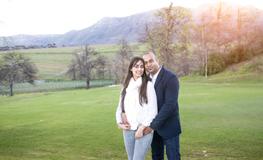 Desan & Tanya – Engagement Shoot at Groot Constantia, Cape Town