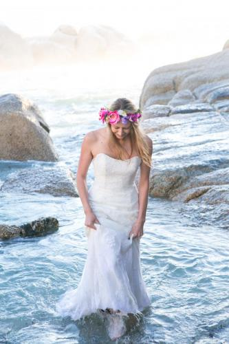 Cape Town beach wedding